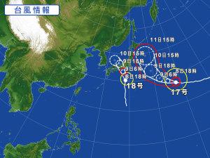 27年9月8日台風②